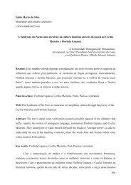 A síndrome do Poeta: uma incursão na poesia de Cecília Meireles e ...