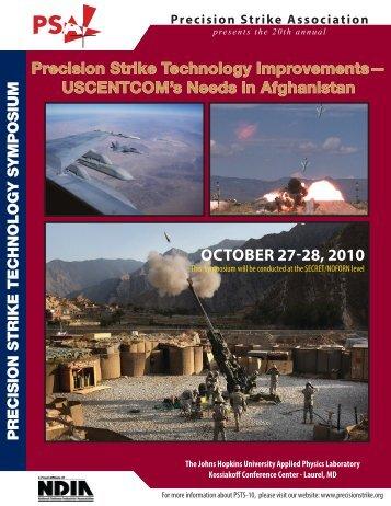 OctOber 27-28, 2010 - Precision Strike Association