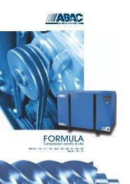 ABAC Formula - Compressori rotativi a vite - Gruppo Benassi
