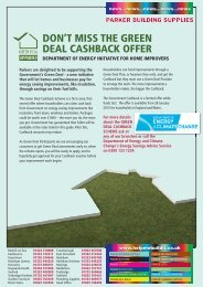 don't miss the green deal cashback offer - Parker Building Supplies