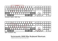 Vectorworks 2009 Mac Keyboard Shortcuts