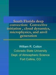 South Florida deep convection - Colorado State University