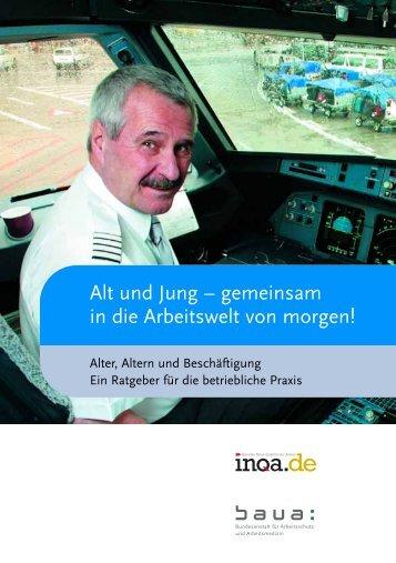 Alt und Jung – gemeinsam in die Arbeitswelt von ... - Mature @ EU