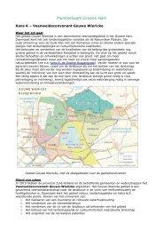 Veenweideconvenant Gouwe Wiericke - Stichting Groene Hart