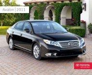 Avalon 2011 - Toyota Canada