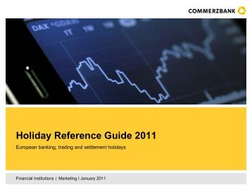 Holiday Reference Guide 2009
