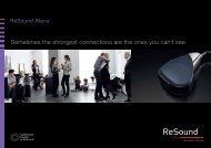 ReSound Alera dispenser brochure - GN ReSound GmbH