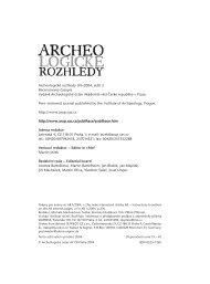 2004_3 - Archeologický ústav AV ČR