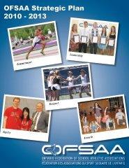 OFSAA's Strategic Plan - Ontario Federation of School Athletic ...
