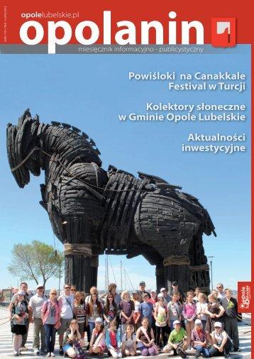 Opolanin Nr 4 - 2012 r. - Opole Lubelskie