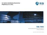02 Herr Steffen Weller RIB iTWO 2012 Sachsen-Anhaltinisches ...