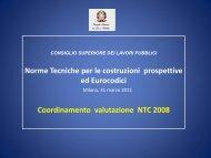 COORDINAMENTO VALUTAZIONE NTC Eugenio GAUDENZI ... - cte