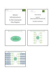 Presentations from Merseyside Green Infrastructure Seminar