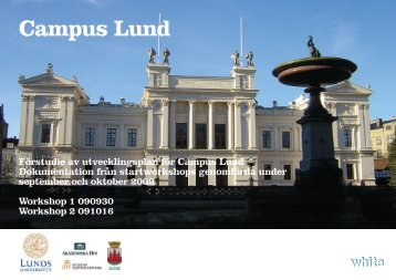 Campus - Workshop 1 och 2 - Lunds universitet