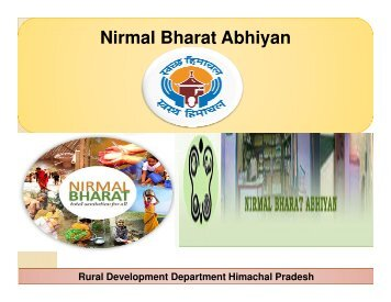 nirmal bharat abhiyan nba essay Nirmal bharat abhiyan (nba) previously called total sanitation campaign (tsc)  was initiated by the government in 1999 the main goal of the program was to.