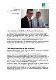 Stefan Holz, Auszubildender zum Bankkaufmann, 2. Ausbildungsjahr