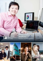 Business Management BA - Perth College