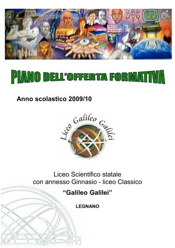 Piano Offerta Formativa 2009/2010 - Galileo Galilei