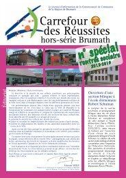 Carrefour des Réussites hors-série Brumath n° spécial