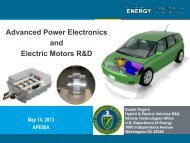 Advanced Power Electronics and Electric Motors - Department of ...