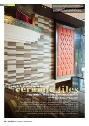 Research & Development for Ceramic Tiles in the 21st ... - Infotile