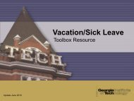 Vacation/Sick Leave