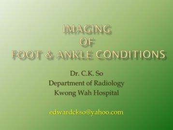 Dr. CK So - Hong Kong Physiotherapy Association