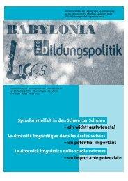 Sprachenvielfalt 2004 - vpod-bildungspolitik