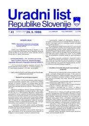 Uradni list RS - 41/98, Uredbeni del - Dars