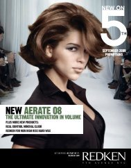 NEW AERATE 08 - Redken Professional