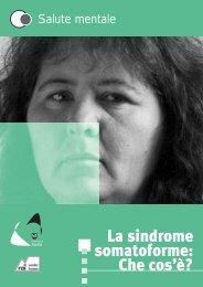 sindrome somatoforme italiano - Provincia Autonoma di Bolzano