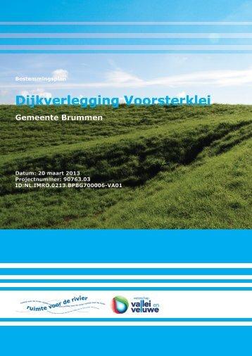 Dijkverlegging Voorsterklei - Gemeente Brummen