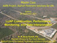 LLAP Construction, Performance Monitoring, and Data ... - Aapaq.org