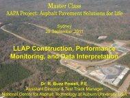 LLAP Construction, Performance Monitoring, and Data ... - Aapaq.org