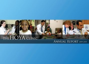 here - The HOYA Clinic! - Georgetown University