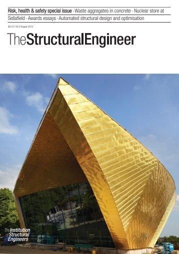 SE15/16 cover :Layout 1 - Malishev Wilson Engineers