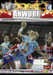 Das Programmheft des Spiels - Handball-Club Leipzig e.V.