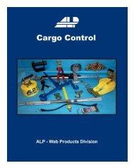 Cargo Control Catalog - ALP Industries Inc.