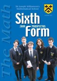 Math Sixth 08 full book - Sir Joseph Williamson's Mathematical School