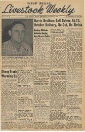 August 11, 1949 - Livestock Weekly!