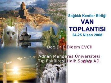 Şehir Sağlığı - Türkiye Sağlıklı Kentler Birliği