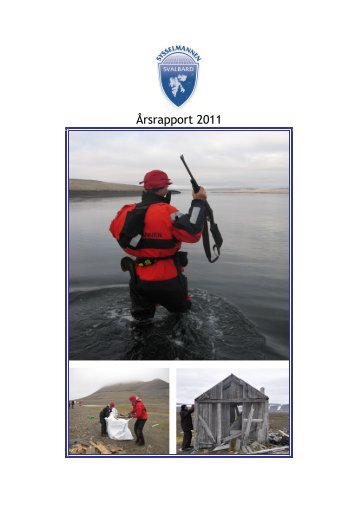 Årsrapport 2011 - Sysselmannen