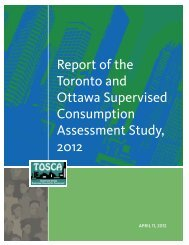 Download the TOSCA study - Full Report - St. Michael's Hospital