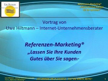 Referenzen-Marketing - Sternstunde für Unternehmer