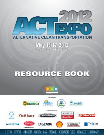 Resource Book (PDF, 3 MB) - Low Carbon Fuels Conference Series