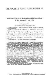 Völkerrechtliche Praxis der Bundesrepublik Deutschland in den ...