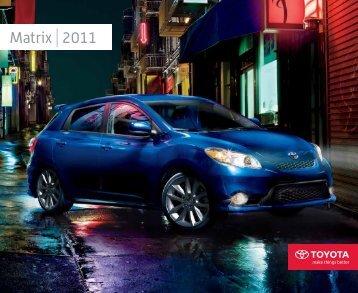Matrix 2011 - Toyota Canada