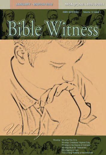Worship - Bible Witness