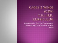 Overview of a Personal Development Life Coaching Curriculum for ...