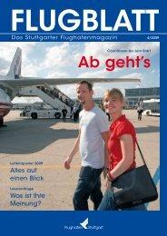 Ausgabe 4/09 - Flughafen Stuttgart